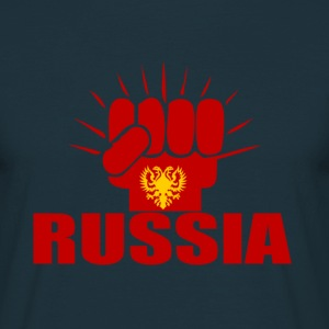 Russia Power T-Shirts - Männer T-Shirt