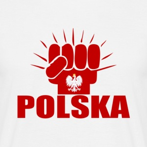 Polska Power T-Shirts - Männer T-Shirt