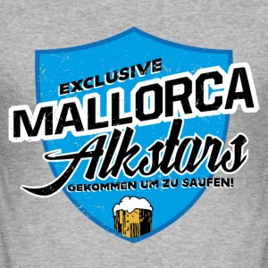 Mallorca Alkstars T-Shirts - Männer Slim Fit T-Shirt