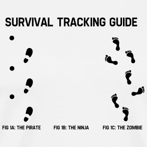Survivial tracking guide T-Shirts - Männer Premium T-Shirt