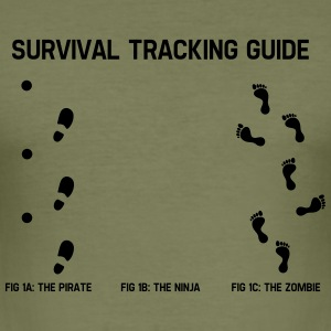 Survivial tracking guide T-Shirts - Männer Slim Fit T-Shirt