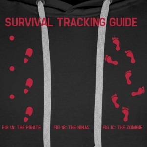 Survivial tracking guide Pullover & Hoodies - Männer Premium Hoodie