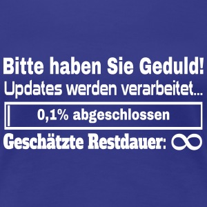 Update Ladebalken T-Shirts - Frauen Premium T-Shirt