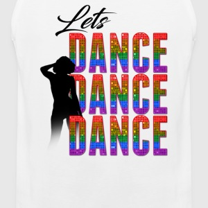 Lets Dance Pride Edition Sports wear - Men's Premium Tank Top