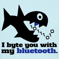 """Nerd T-Shirts mit """"Byte you Nerd Fisch"""""""