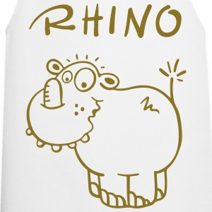 Funny rhino  Aprons - Cooking Apron