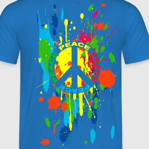 peace symbol 55 Tee shirts - T-shirt Homme