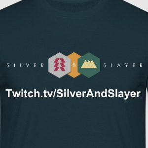 Silver And Slayer T Shirt - Men's T-Shirt