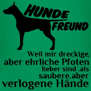 Hundefreund T-Shirts - Kinder Premium T-Shirt