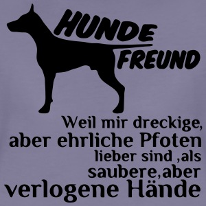 Hundefreund T-Shirts - Frauen Premium T-Shirt