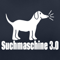 """Nerd T-Shirts mit """"Hund Suchmaschine"""""""