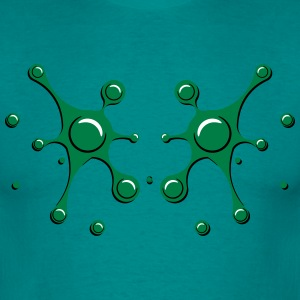 Blobs drops stains art T-Shirts - Men's T-Shirt