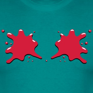 Blobs blot blood T-Shirts - Men's T-Shirt