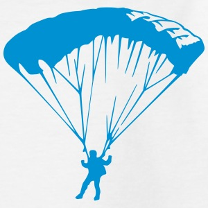 Fallschirm parachute (1 color) Shirts - Kids' T-Shirt