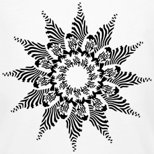 Zebra Star - Men's Organic T-shirt