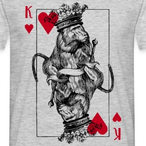 Monkey King of Hearts - Men's T-Shirt