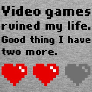 Video games ruined my life - Männer Premium Tank Top