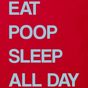 Eat Poop Sleep - Kinder Bio-T-Shirt