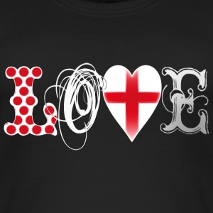 Love England White Tops - Women's Organic Tank Top