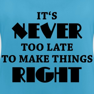 It's never too late Sportbekleidung - Frauen Tank Top atmungsaktiv