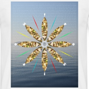 wheel of surfing T-Shirts - Männer T-Shirt