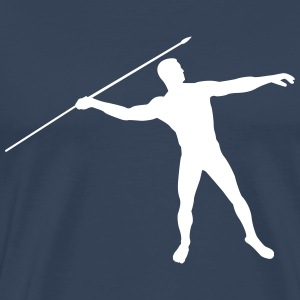 javelin thrower T-Shirts - Men's Premium T-Shirt