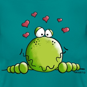 Frosch in Love T-Shirts - Frauen T-Shirt