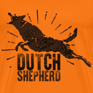 Dutch Shepherd Dog - Men's Premium T-Shirt