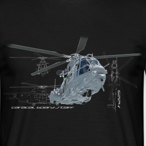 Caracal helicopter color T-Shirts - Männer T-Shirt