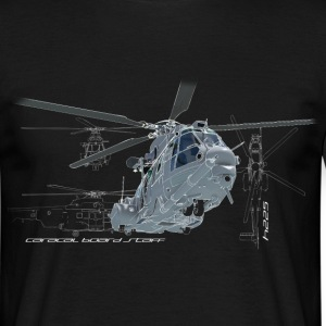 Caracal helicopter color Tee shirts - T-shirt Homme