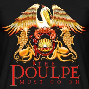 The Poulpe Must Go On Tee shirts - T-shirt Homme