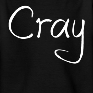 Cray Tshirt Black - Teenage T-shirt