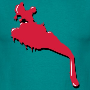 Blob drip blood T-Shirts - Men's T-Shirt