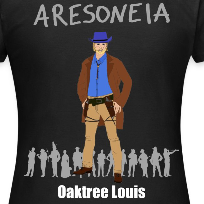 Aresoneia-Louis (Weiß) - Damen-Shirt