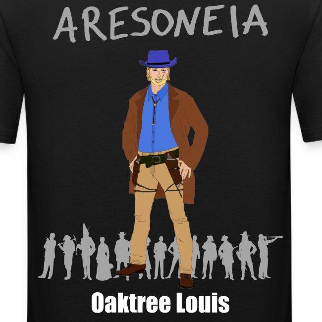 Aresoneia-Louis (Weiß) - Herren-Slim-Fit-Shirt