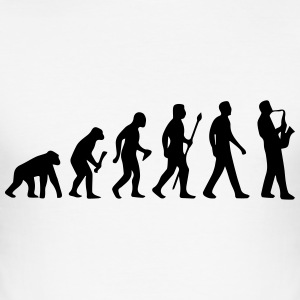 JAZZ THEORY OF EVOLUTION SHIRT! T-shirts - Slim Fit T-shirt herr