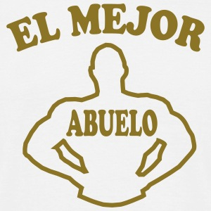El mejor abuelo Tee shirts - T-shirt Homme