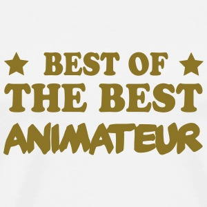 Best of the best animateur Tee shirts - T-shirt Premium Homme