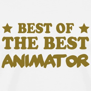 Best of the best animator Tee shirts - T-shirt Premium Homme