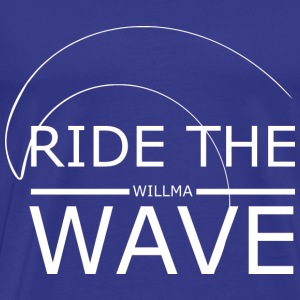 Ride The Wave - Männer Premium T-Shirt