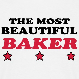 The most beautiful baker T-Shirts - Männer T-Shirt