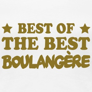 Best of the best boulangère Tee shirts - T-shirt Premium Femme