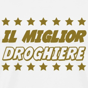 Il miglior droghiere Tee shirts - T-shirt Premium Homme