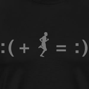 A Formula for Happiness T-shirts - Mannen Premium T-shirt