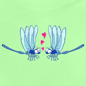 Cute dragonflies shyly falling in love Baby Shirts  - Baby T-Shirt