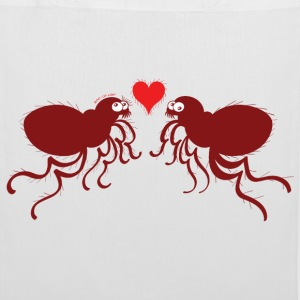 Ugly fleas madly falling in love Bags & Backpacks - Tote Bag