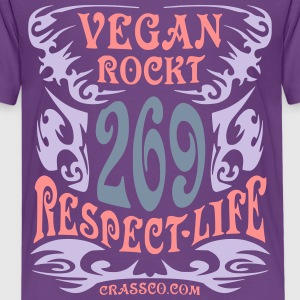VEGAN TRIBAL T-Shirts - Teenager Premium T-Shirt