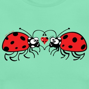 Adorable ladybugs sweetly falling in love T-Shirts - Women's T-Shirt