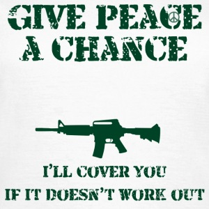 Peace a Chance - Women's T-Shirt