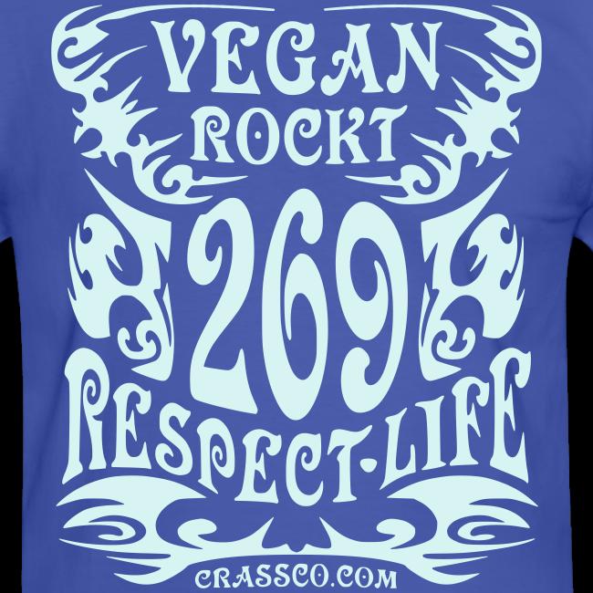 VEGAN RESPECT LIFE (reflektierend)